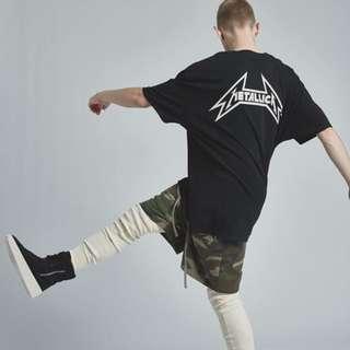 Fear Of God X Pac Sun Metallica Tee