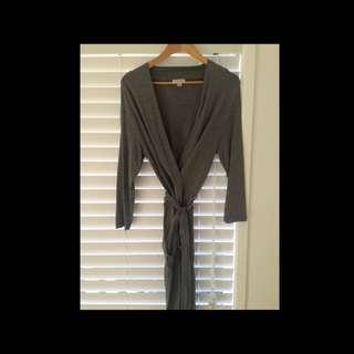 Witchery Grey Wrap Dress
