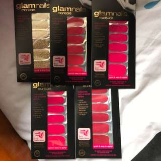 Glamnails Nails Coloured Nail Enamel Strip