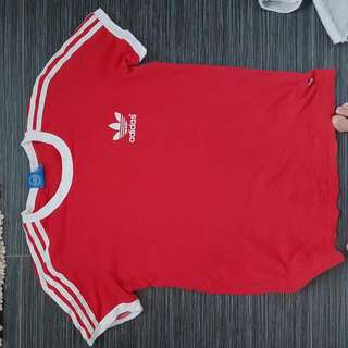 Adidas Red Tshirt