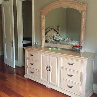 5pcs Solid Wood Bedroom Set
