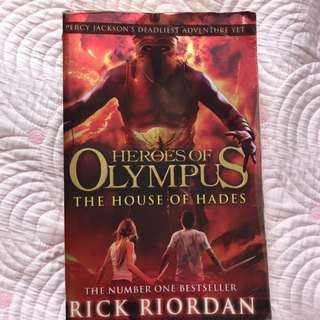 Heroes Of Olympus , The House Of Hades By Rick Riordan