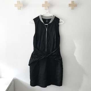 Ksubi Wrap Front Dress Size S