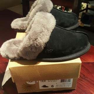BNIB UGG scuffette Sheepskin Slippers Size 6