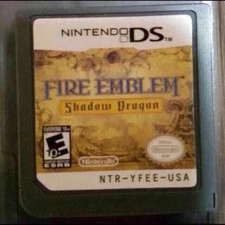 Nintendo DS Fire Emblem Shadow Dragon