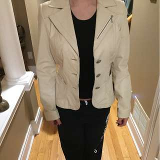 DANIER LEATHER BLAZER/JACKET