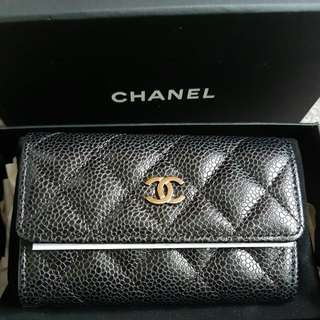 (Item On Hold)Chanel Caviar Card Case SHW
