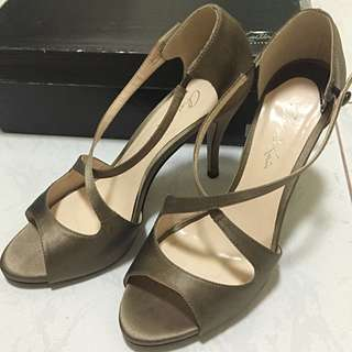 CHARLES & KEITH Taupe Pumps