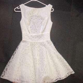 ASOS Petite Lace Overlay Dress