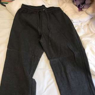 Suzanne Grae Grey Trackies