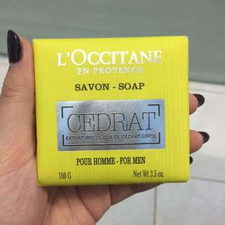 L'occitane Soap For Men (ORI)