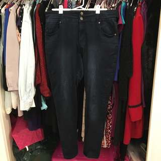 City Chic size 16 Blue Hourglass Skinny TDF Jeans