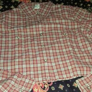 Baju Crop Kotak2