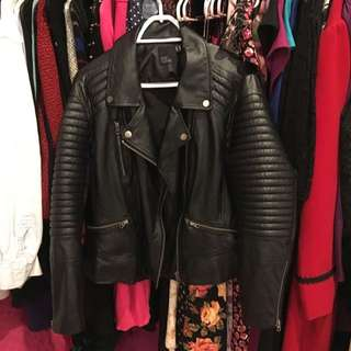 ASOS size 22 Genuine Leather Jacket