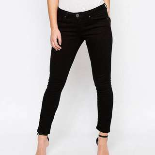 Asos Petite Low Rise Jeans