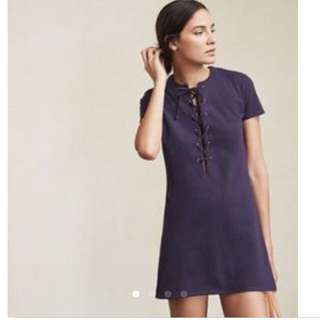Reformation Navy Dress Size S