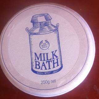 Body shop milk Bath