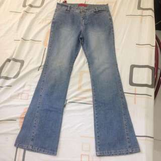 Herbench Overhauled Faded Jeans