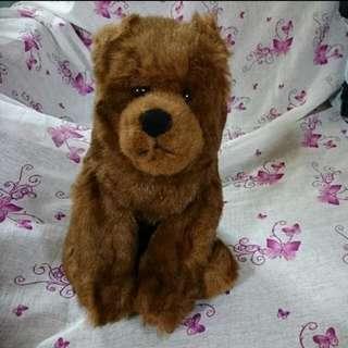 TY Classic Soft Toy - Bear - Woodson