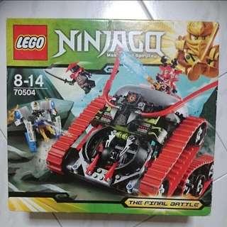 Lego Ninjago 70504 Masters Of Spinjitzu