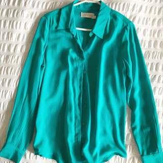Zimmermann Silk Shirt Size 0