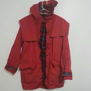 Rainbird Red Rain jacket Medium