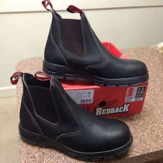 Redback Size 10 Steelcap Boots