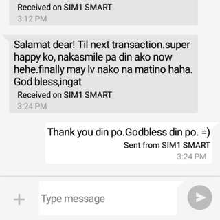 Satisfied Client Thank You So Much Po!!!