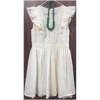 DRESS (off white)