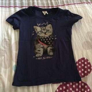 Cat Print Top