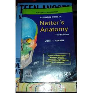 essential guide to netter's anatomy by John T. Hansen