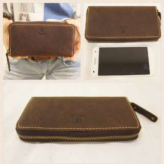 CEVE Authentic Cow Leather Wallet/ Purse Year End Promo 30% Off