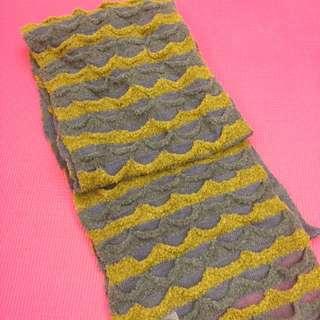 日本購入藍綠圍巾