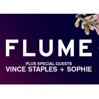 2 x Flume SEATED Tickets at Myer Music Bowl - MELBOURNE