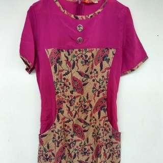 Midi Batic Dress