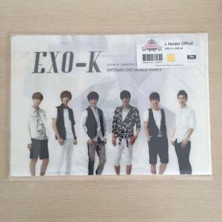 RARE!! EXO K/M SMTOWN LIVE 3 L-HOLDER SET