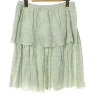 agnes b. 粉果綠短裙