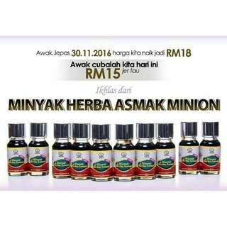 minyak herba asmak mini