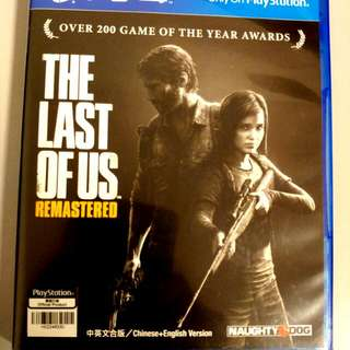 PS4 The Last Of Us - Reserved