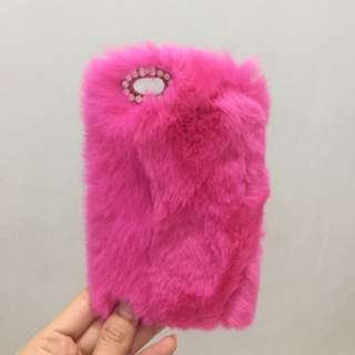 Case Iphone 6 Bulu Pink