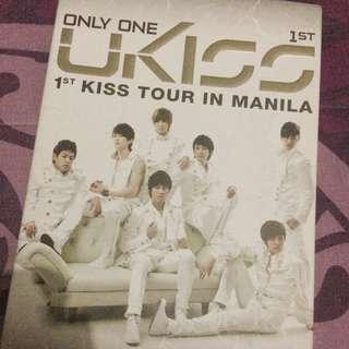 [DVD Concert - ORIGINAL] U-KISS 1st Kiss Tour in Manila