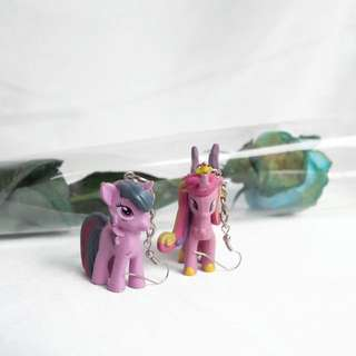 Purple Pony Earrings