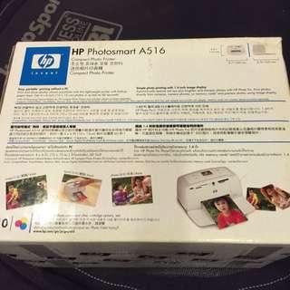 HP 迷你相片印表機 A516