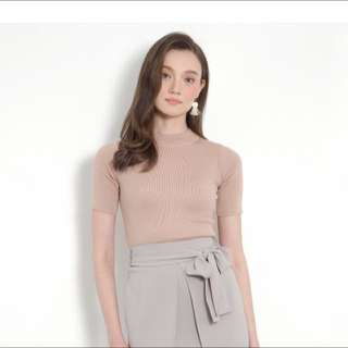 HVV BNWT Tao Knit Top Nude XL