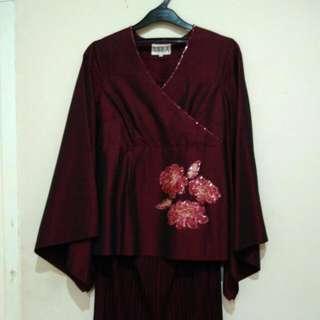 Baju Pesta Kimono Designer Indonesia