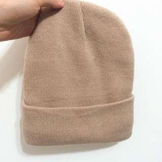 免運🌟毛帽 鋪棉 保暖 針織 咖啡色 鴕色 卡布奇諾 日系