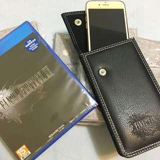 FFXV 特典 皮革包 手機套