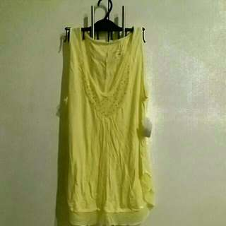 Casual Yellow Top