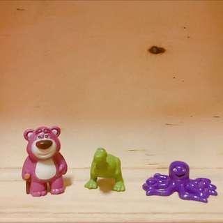 奇趣蛋 熊抱哥 抱抱龍 章魚