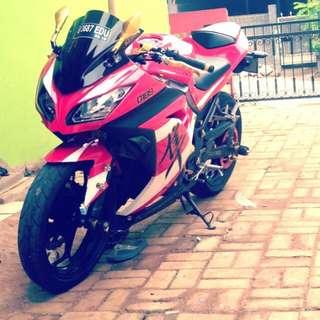 Kawasaki Ninja 250 CC Full Modif 2014